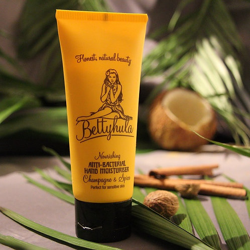 Nourshing Anti-Bacterial Handcream, Champagne & Spice