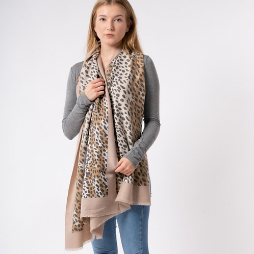 Leopard Warm Print Scarf