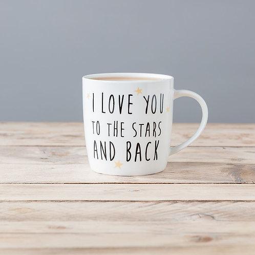 I Love You To The Stars Mug