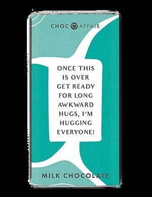 Chocolate Message Bar | Hugs