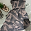 Thumbnail: Pleated Camouflage Print Scarf   Pink