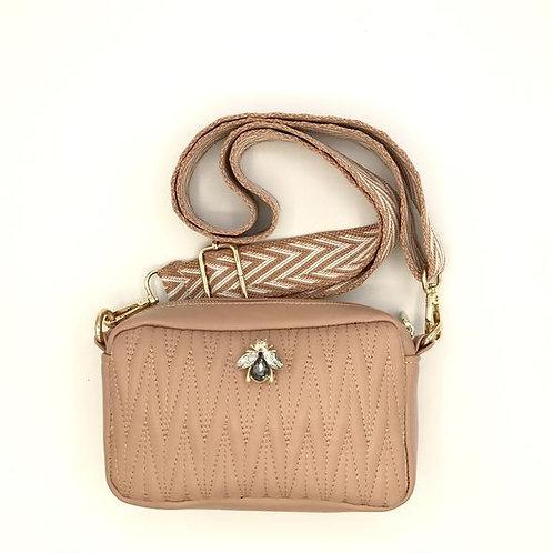 Sixton London | Small Crossbody Bag, Vegan Leather - Pink