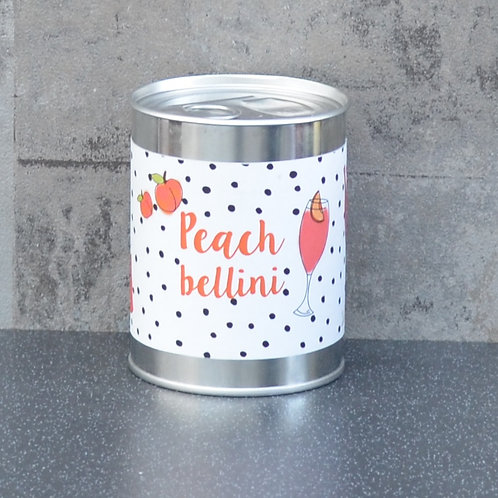 Ring Pull Candle Peach Bellini