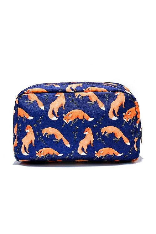 Cute Fox Large Wash Bag