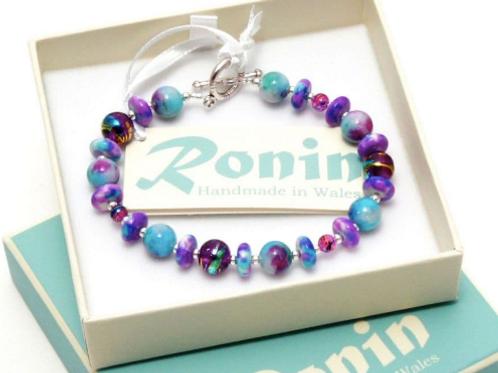 Gemstone Jewellery | Patchwork Bracelet