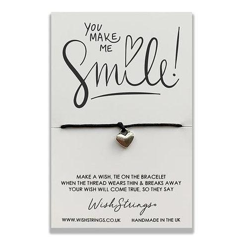 Wishstring Bracelet | You Make Me Smile