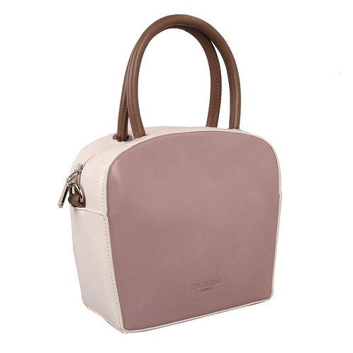 Red Cuckoo Two Tone Grab Bag Pink