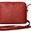 Thumbnail: Leather Zipped Crossbody Bag | Dark Red