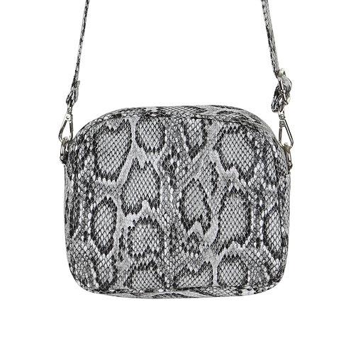 Snake Print Grey - Crossbody Bag