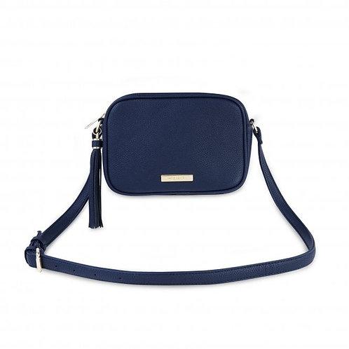 Katie Loxton Sophia Tassel Crossbody Bag   Navy