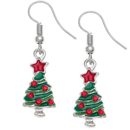 Christmas Earrings (Tree)