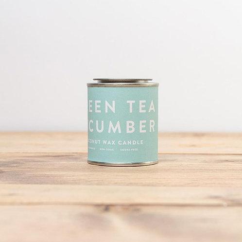 Green Tea Cucumber Conscious Candle