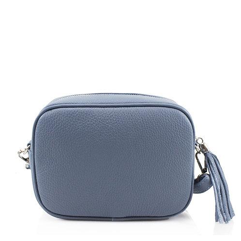 Small Leather Tassel Crossbody Bag