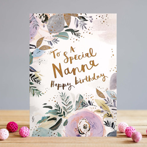 Nana Floral Card