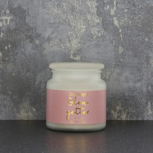 Large Frosted Jar Candle - Go Getter