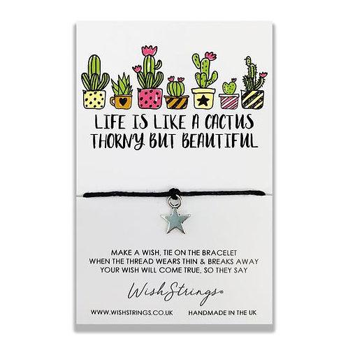 Wishstring Bracelet | Cactus