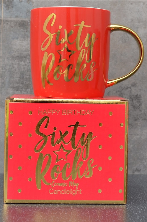 Sixty Rocks Ceramic Mug