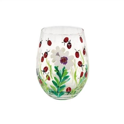 Stemless Glass | Ladybirds