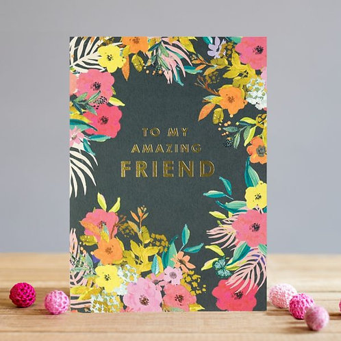 Amazing Friend Card
