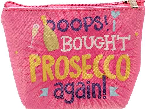 Pop The Prosecco Coin Purse