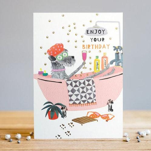 Enjoy Your Birthday Card