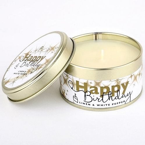 Happy Birthday Occasion Candle