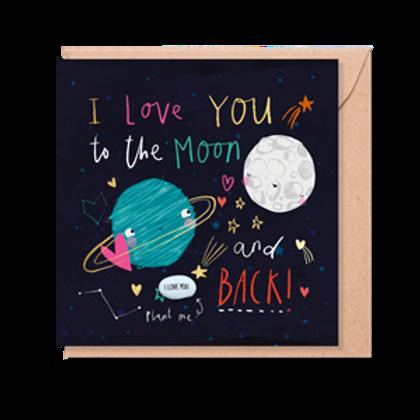 Card With Magic Plantable Bean | Love You