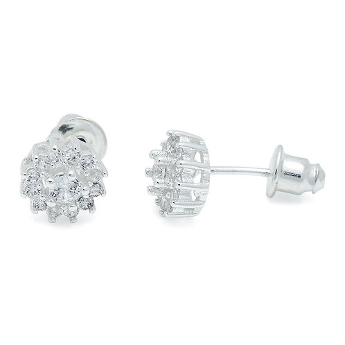 Cubic Zirconia Royal Earrings