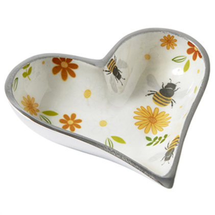 Busy Bees Heart Bowl