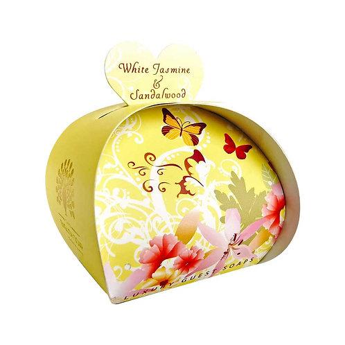 White Jasmine & Sandalwood Luxury Guest Soaps
