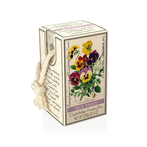 Wild Pansy Soap On A Rope
