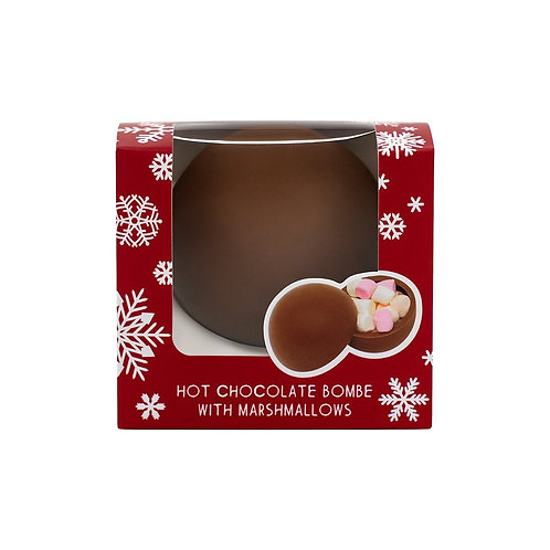 Christmas Hot Chocolate Bombe
