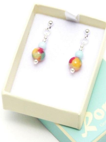 Gemstone Jewellery | Fizz E1 Earrings