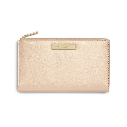 Katie Loxton Alise Fold Out Purse   Champagne