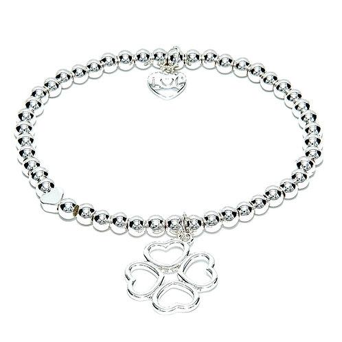 Clover Heart Bracelet