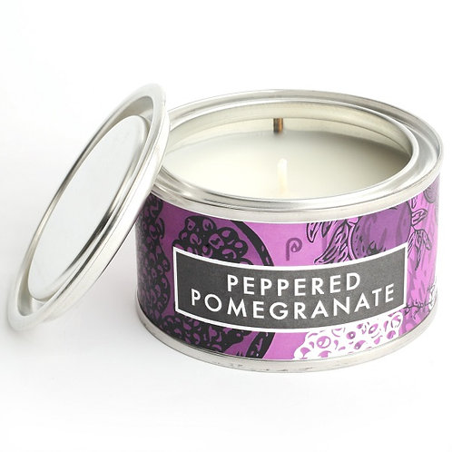 Peppered Pomegrante Small Elements Candle