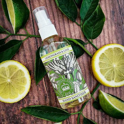 Lemongrass & Lime Hand Sanitiser