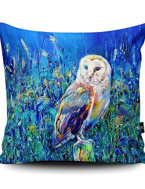 Midsummer Owl Cushion