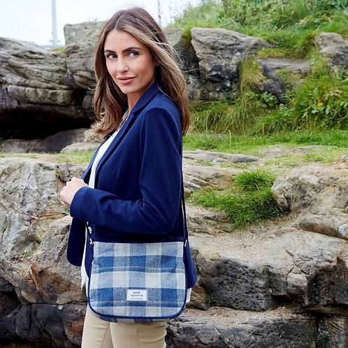 Loch Tweed Rosy Bag | Blue
