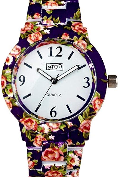 Eton Women's Floral Watch
