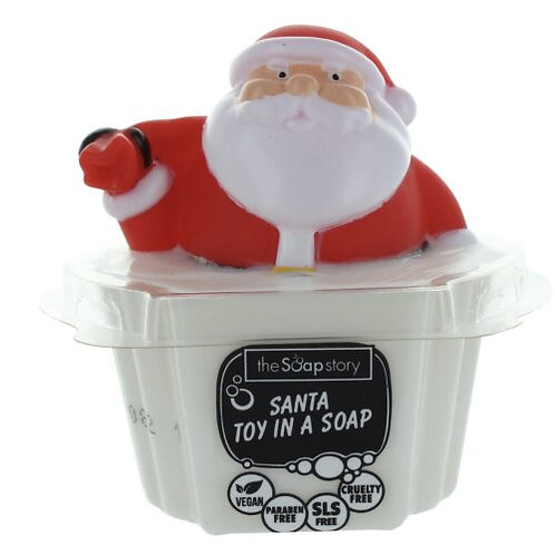 Santa Toy In A Soap