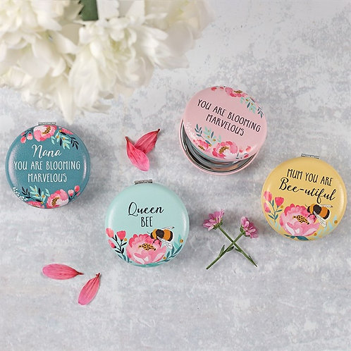Blossom & Bee Compact Mirror