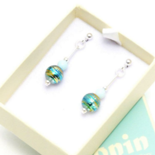 Gemstone Jewellery | Fizz E2 Earrings