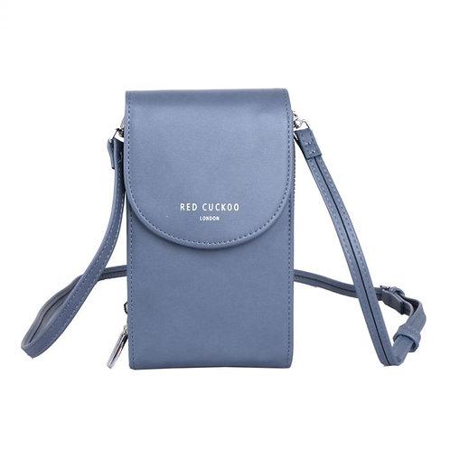 Red Cuckoo Purse Pouch Bag | Blue