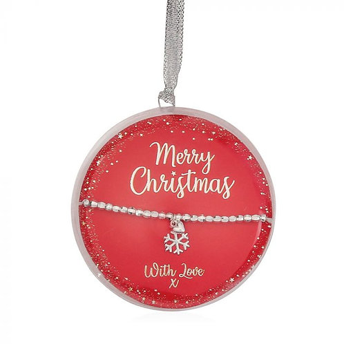 Life Charms Bauble Bracelet   Merry Christmas