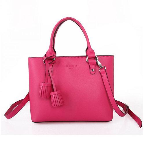 Red Cuckoo - Fuchsia Tassel Grab Bag