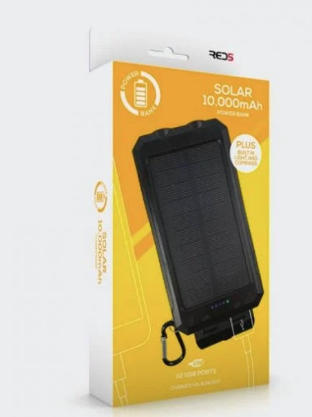 RED5 Solar Power Battery Pack