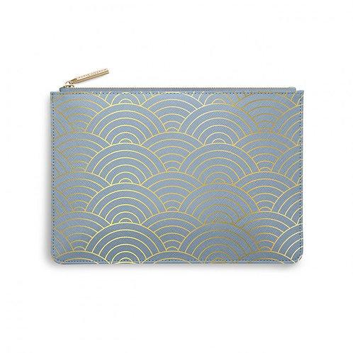 Katie Loxton | Perfect Pouch | Wave Print