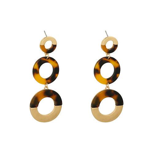 Earrings Triple Circle
