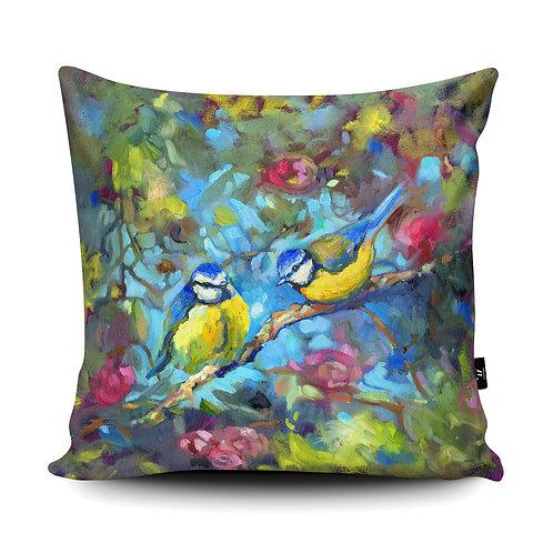 Birds & Blossom Cushion